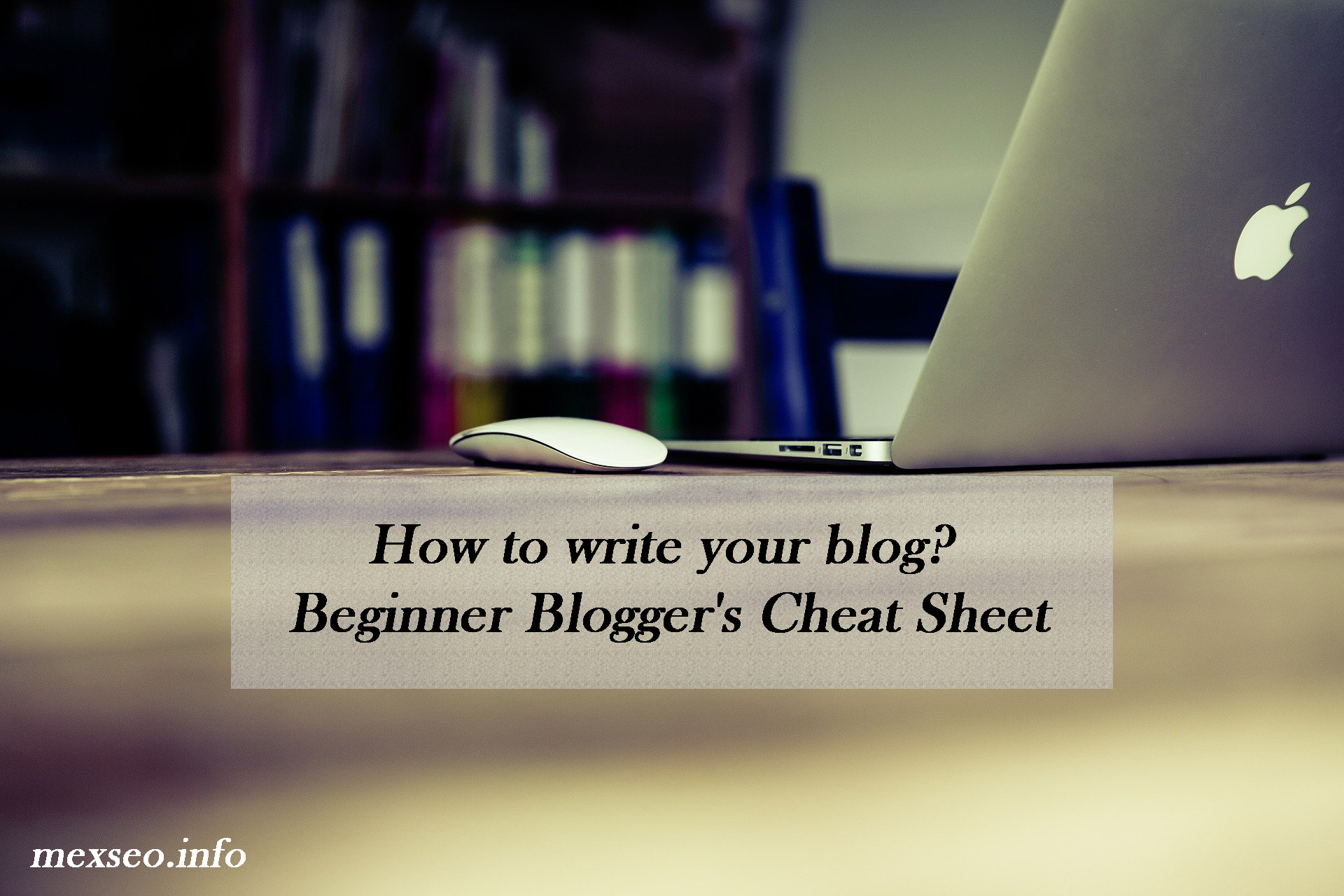 How to write your blog? Beginner Blogger's Cheat Sheet
