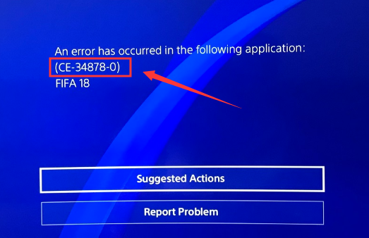 How to Fix PS4 Error CE-34878-0