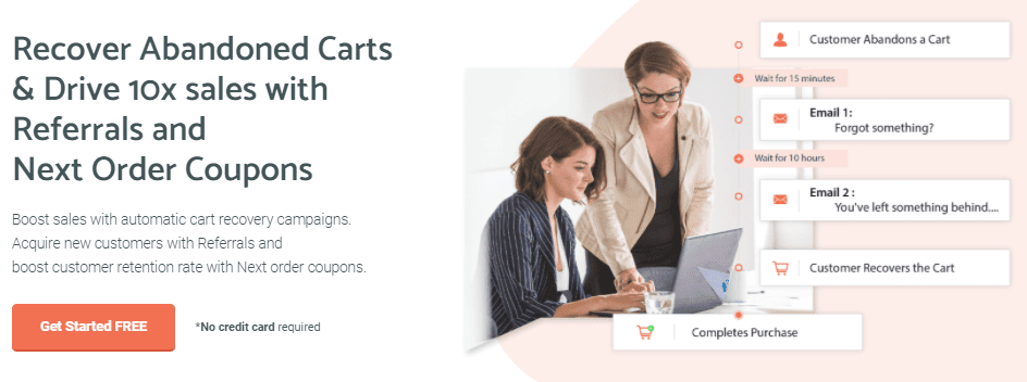 Improve Customer Loyalty - Cart Recovery Plugin