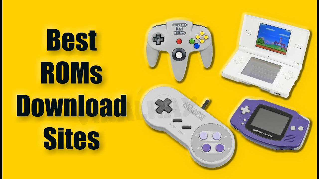 20 Best Safe ROM Sites To Download ROMs